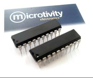 Pack of 2 AT89C2051 8-bit Microcontrollers w/ 2KBytes Flash