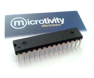 Pack of 1 ATmega328 8-bit AVR Microcontroller w/ 32KBytes ISP Flash