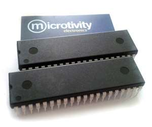 Pack of 2 AT89S52 8-bit Microcontrollers w/ 8KBytes ISP Flash