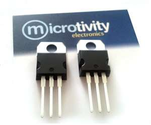 Pack of 2 IRF540 N-channel Power MOSFETs