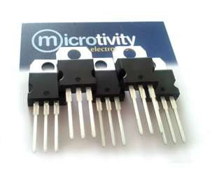 Pack of 5 7812 +12V Linear Voltage Regulator ICs