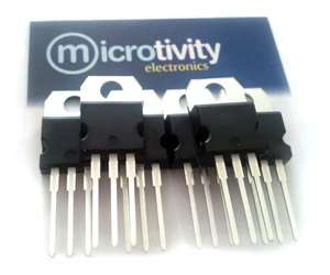 Pack of 6 78xx Assorted Linear Voltage Regulator ICs